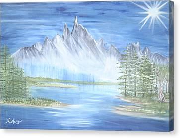 Mountain Mist 2 Canvas Print