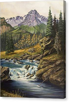 Mountain Of The Holy Cross Canvas Print