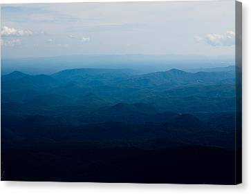 Mountain Peak Canvas Print by Kim Fearheiley