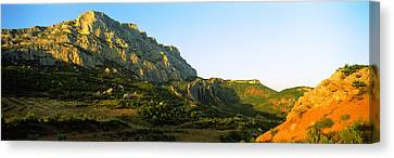 Mountain Range, Montagne Canvas Print by Panoramic Images