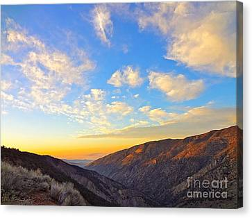 Mountain Soup Canvas Print by Gem S Visionary
