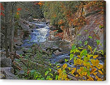 Mountain Splendor Canvas Print by HH Photography of Florida