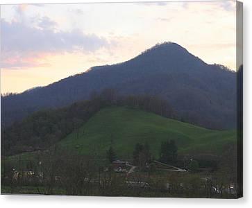 Mountain Sunset Eleven Canvas Print