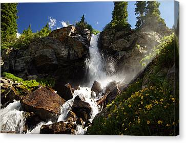 Mountain Tears Canvas Print