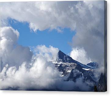Mountain Top Experience Canvas Print