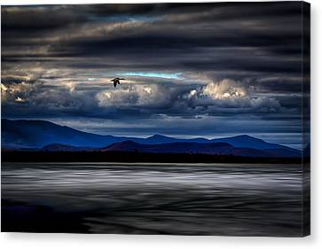 Mountain View - Mt. Katahdin Canvas Print by Gary Smith