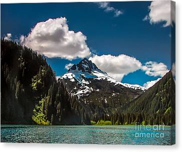 Mountain View Canvas Print by Robert Bales