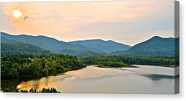Mountain View Canvas Print by Frozen in Time Fine Art Photography