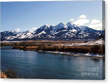 Mountain View Canvas Print by Sharon Elliott