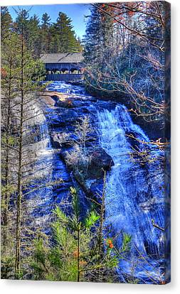 Mountain Waterfall Canvas Print