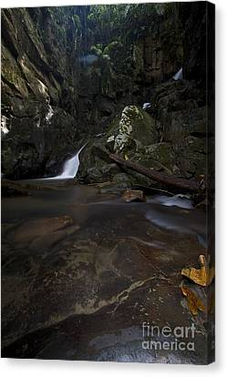 Canvas Print featuring the photograph Mountain Waters. by Gary Bridger