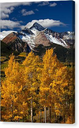 Mountainous Wonders Canvas Print by Darren  White