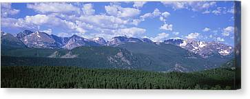 Mountains Fr Beaver Meadows Rocky Mt Canvas Print
