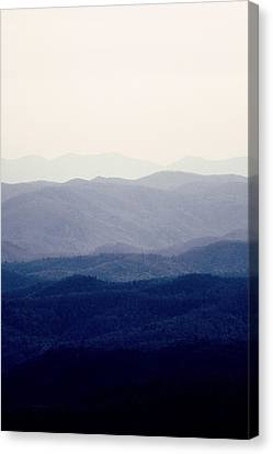 Mountains Canvas Print by Kim Fearheiley