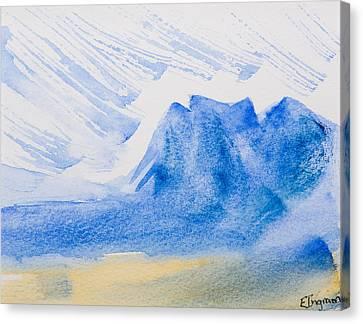 Mountains Tasmania Canvas Print