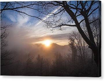 Mountaintop Sunrise Canvas Print
