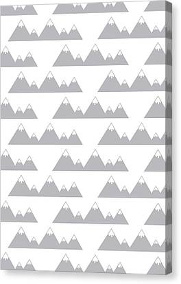 Moutain Print Canvas Print