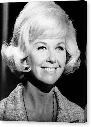 1960s Hairstyles Canvas Print - Move Over, Darling, Doris Day, 1963, Tm by Everett