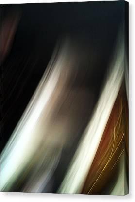 Movement Of Light Canvas Print