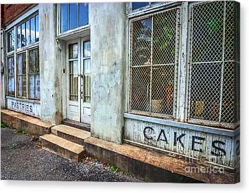 Movie ''hunger Games'' Bakery Canvas Print by Marion Johnson