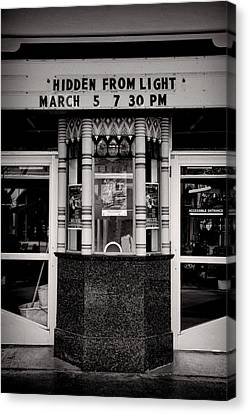 Movie Theater Canvas Print by Rudy Umans