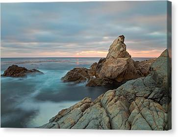 Canvas Print featuring the photograph Moving Storm by Jonathan Nguyen