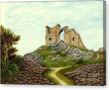 Mow Cop Castle Canvas Print by Nasar Khan