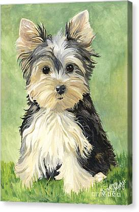 Moxie Roxie Canvas Print by Suzanne Schaefer