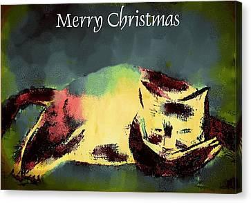 Mprints - Christmas Cheer 18 Canvas Print
