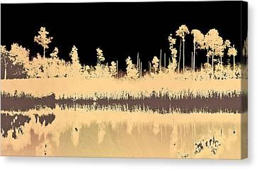 Mprints - Bare Bones Canvas Print by M  Stuart