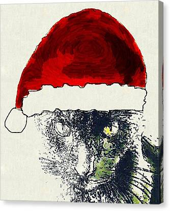 Mprints - Christmas Cheer 12 Canvas Print