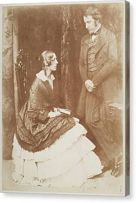 Mr. And Mrs. James Stuart Wortley Canvas Print