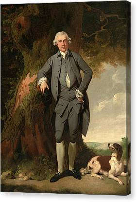 Mr. Bentley, Francis Wheatley, 1747-1801 Canvas Print by Litz Collection