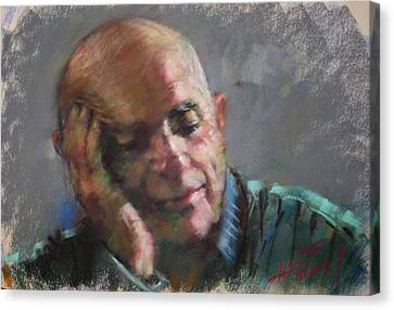 Mr Cela Canvas Print by Ylli Haruni
