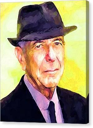 Mr. Cohen Canvas Print
