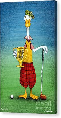 Mr Golf... Canvas Print by Will Bullas