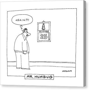 'mr. Humbug' Canvas Print by Mick Stevens
