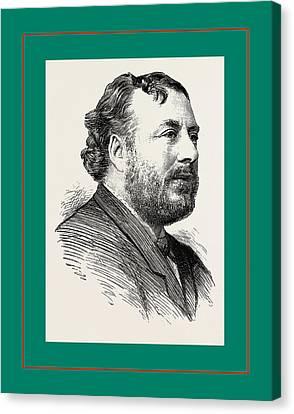 Clayton Canvas Print - Mr. John Clayton by English School
