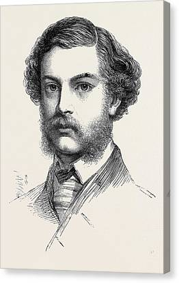 Mr. Jopling Winner Of The Queens Prize The National Rifle Canvas Print
