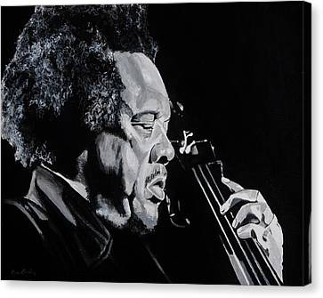 Mr Mingus Canvas Print by Brian Broadway