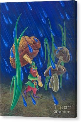 Mr. Mushroom Canvas Print