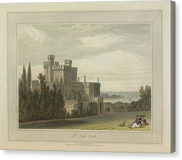 Mr Nash's Castle Canvas Print by British Library