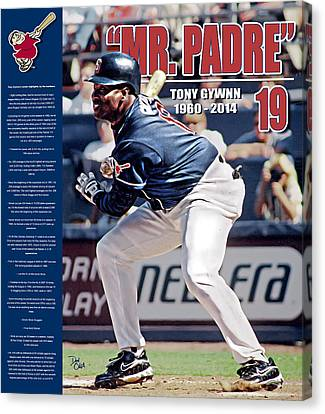Mr Padre Canvas Print by Don Olea