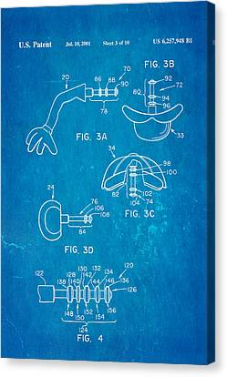 Mr Potato Head 2 Patent Art 2001 Blueprint Canvas Print by Ian Monk