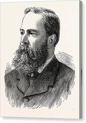 Mr. Richard Clay, Engraving 1890, Uk Canvas Print