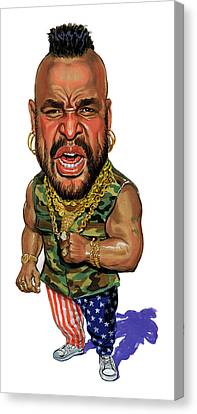 Mr. T Canvas Print