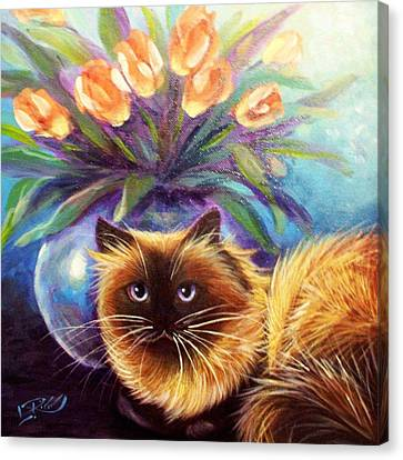 Mr. Wow Canvas Print by L Risor