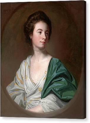Mrs. Robert Hyde Signed And Dated Canvas Print by Litz Collection
