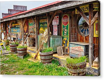 Mt. Airy Old Country Store I Canvas Print by Dan Carmichael