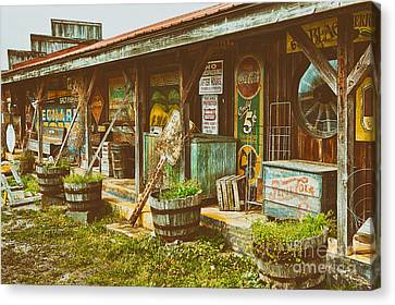 Mt. Airy Old Country Store II Canvas Print by Dan Carmichael